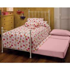 Hillsdale Molly White Bed with Trundle (Twin)