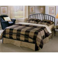 Hillsdale Old Towne Textured Black Bed