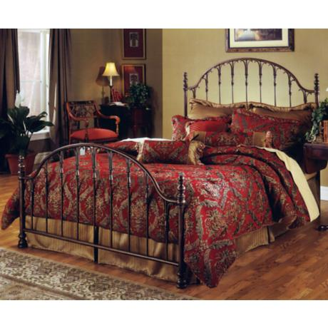 Hillsdale Tyler Antique Bronze Bed