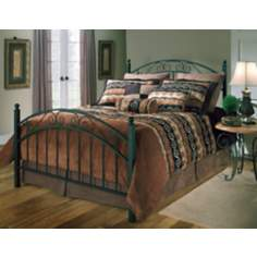 Hillsdale Willow Textured Black Bed