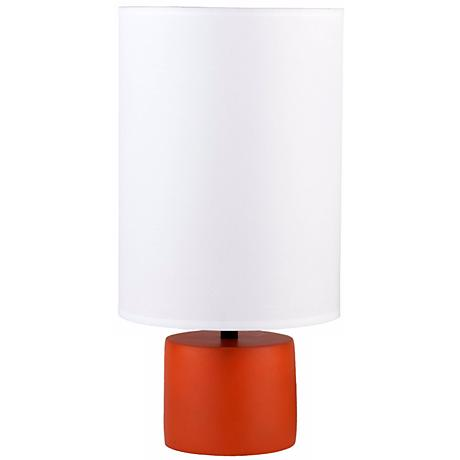 Lights Up! Devo Round Carrot Table Lamp