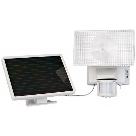 Solar Powered Motion Activated Halogen Security Floodlight