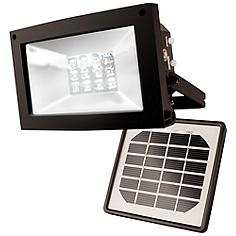Super Bright 12-LED Dusk-Dawn Solar Powered Flood Light