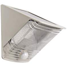 Solar Powered Motion Activated LED Wedge Light