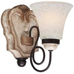"Jessica McClintock Accents Provence 8 1/2"" High Wall Sconce"