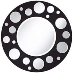 "Orbit 34""  Wide Wall Mirror"