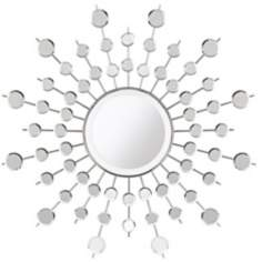 "Sunburst Rays 29 1/2"" Wide Wall Mirror"