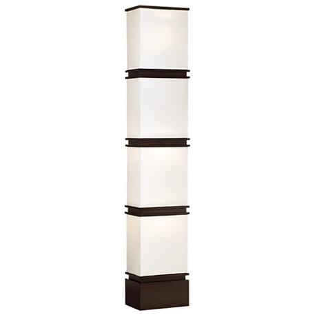 Possini Euro Design Lightstack Floor Lamp