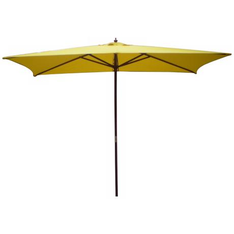 Rectangular Yellow Market Table Umbrella