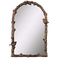 "Uttermost Paza 36 3/4"" High Arch Wall Mirror"
