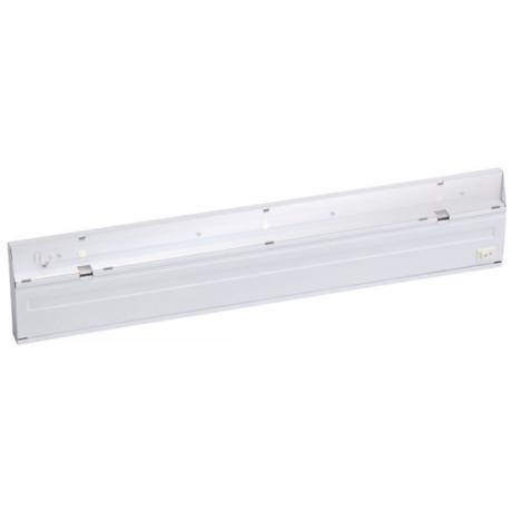 "White Direct Wire LED 22"" Dimmable Under Cabinet Light"