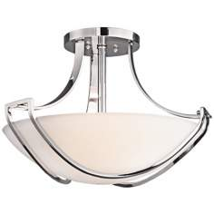 "Kichler Owego Collection 20"" Wide Ceiling Light Fixture"