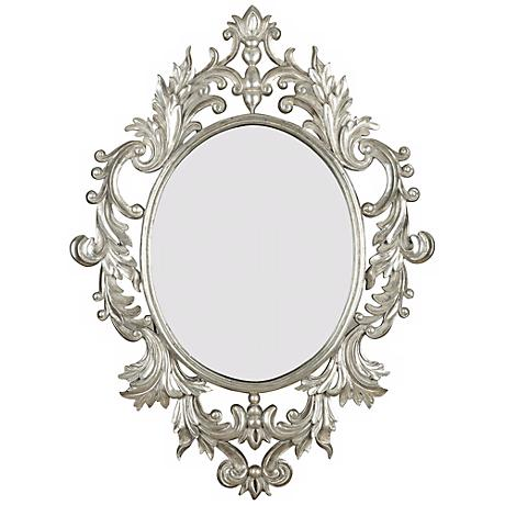 "Fabled Elegance 38"" High Wall Mirror"