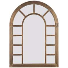 "Sanctuary 38"" High Wall Mirror"