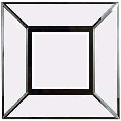 "Infinite Vista 30"" Square Wall Mirror"