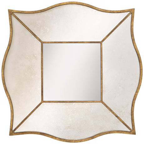 "Kichler Bethany Bronze Finish 31"" Square Wall Mirror"