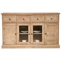 "Hudson Stone Wash Finish 70"" Wide Sideboard"