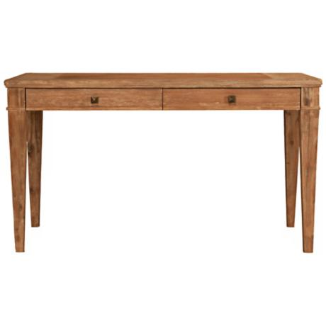 "Hudson Stone Wash Finish 30"" High Writing Desk"