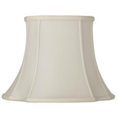 Oyster French Oval Shade 6.75/8.5x12.25/14x10.5 (Spider)