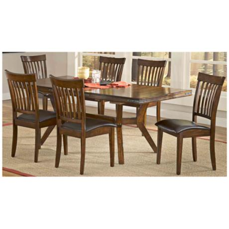 Hillsdale Arbor Hill Collection 7 Piece Dining Set