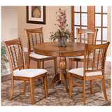 Hillsdale Bayberry Collection 5 Piece Round Dining Set