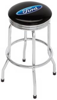 Ford Oval Single Ring Retro Bar Stool (T5501)