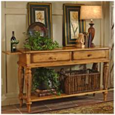Hillsdale Wilshire Pine Finish Sideboard Table