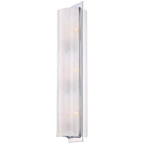 "Minka Lavery Clarte Bath Chrome 21 3/4"" High Wall Sconce"