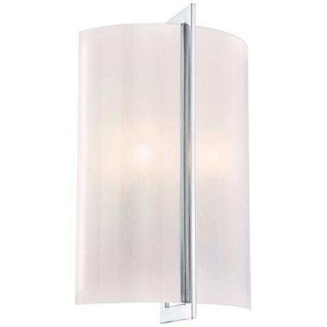 "Minka Lavery Carte Chrome 14 3/4"" High Wall Sconce"