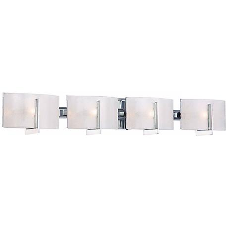 "Minka Lavery Clarte Chrome 37"" Wide Bath Wall Light"
