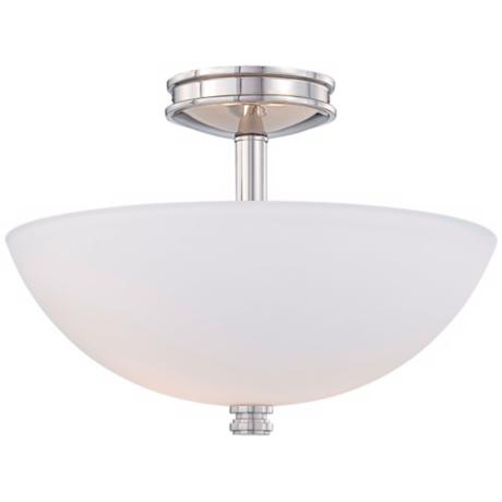 "Minka Lavery Brookview 15 3/4"" Wide Ceiling Light"