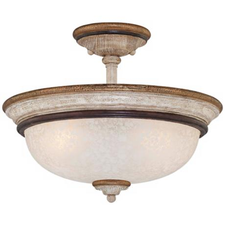 "Jessica McClintock Accents Provence 15"" Wide Ceiling Light"