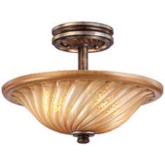 "Minka Lavery Marsoni 16"" Wide Semi Flush Ceiling Light"
