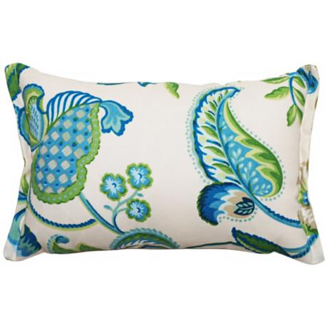 Maxine Rectangular Flanged Edge Outdoor Pillow