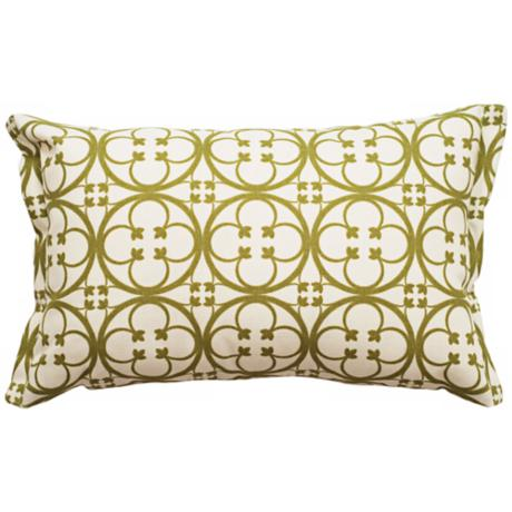 Betsy Rectangular Flanged Edge Outdoor Pillow