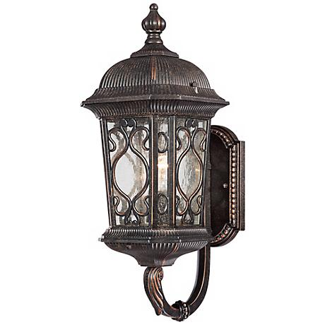 "Veranda Collection 17"" High Outdoor Wall Up-Light"