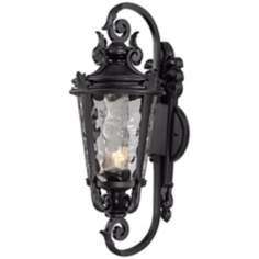"Casa Marseille 31"" High Black Energy Efficient Outdoor Light"