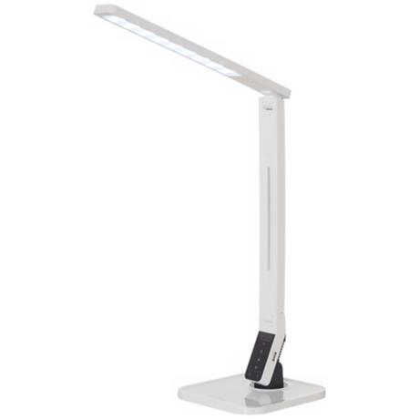 Softech DL90 Natural Light LED Desk Lamp White