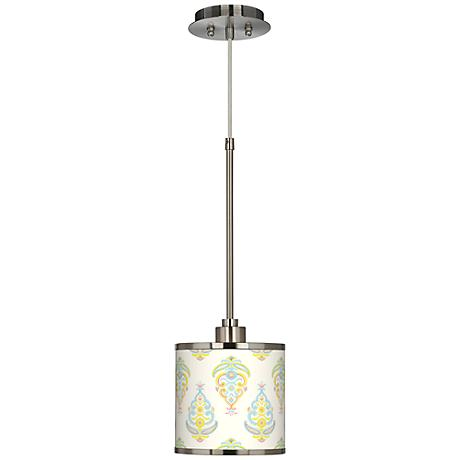 Pastel Parade Giclee Glow Mini Pendant Light