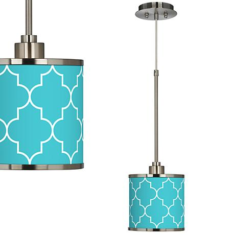 Tangier Giclee Glow Mini Pendant Light