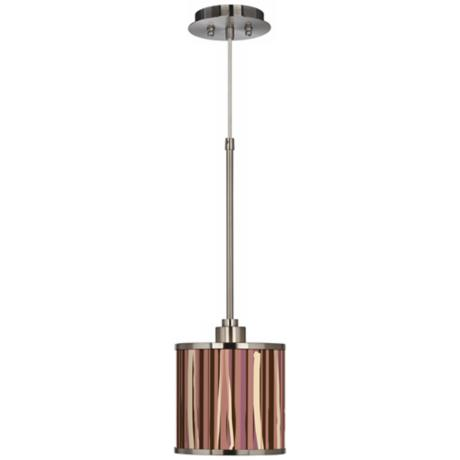 Kalahari Lines Giclee Glow Mini Pendant Light