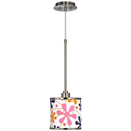 Retro Giclee Glow Mini Pendant Light