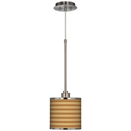 Parallel Lines Giclee Glow Mini Pendant Light