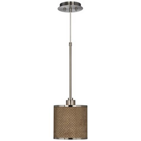 Interweave Giclee Glow Mini Pendant Light