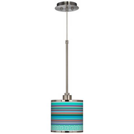 Key West Party Time Giclee Glow Mini Pendant Light