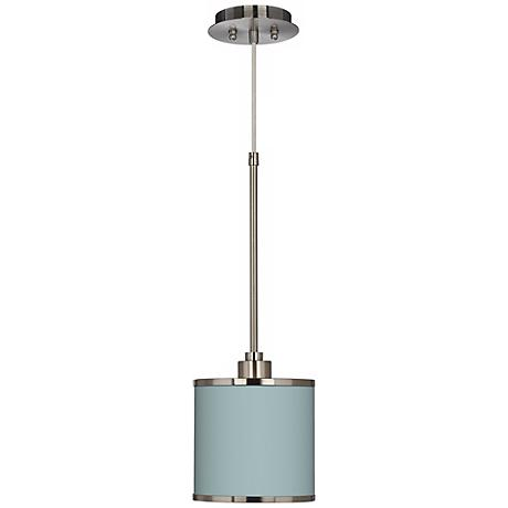Festoon Aqua Giclee Glow Mini Pendant Light