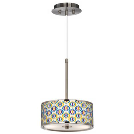 "Scatter Giclee Glow 10 1/4"" Wide Pendant Light"