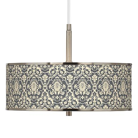 "Seedling by thomaspaul Damask 16"" Wide Pendant Light"