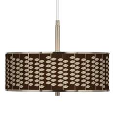 "Hi-Fi Giclee Glow 16"" Wide Pendant Light"