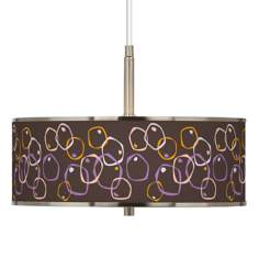 "Linger Giclee Glow 16"" Wide Pendant Light"